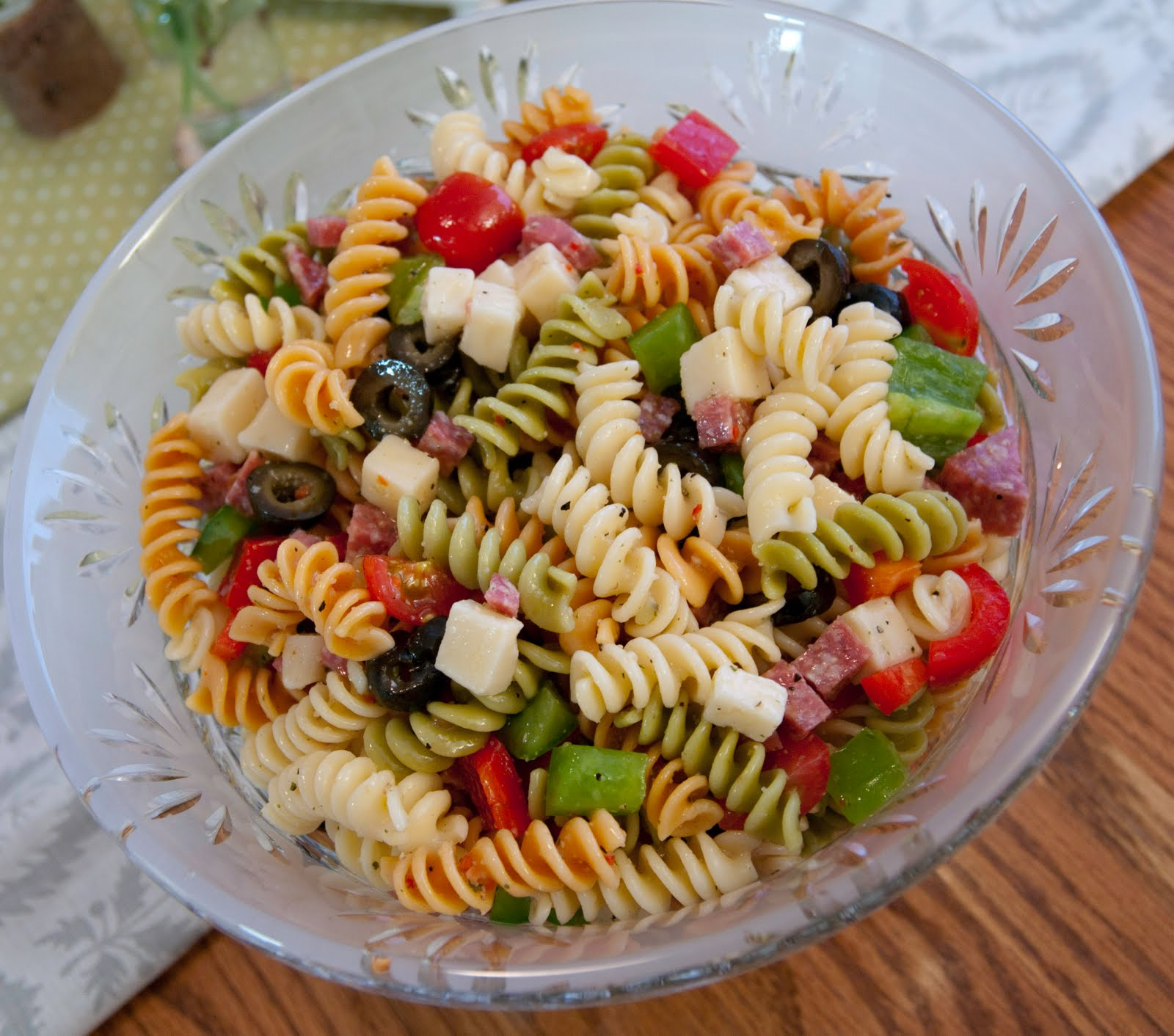 A Blog About Food My Favorite Pasta Salad