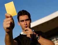 hakem, sarı kart