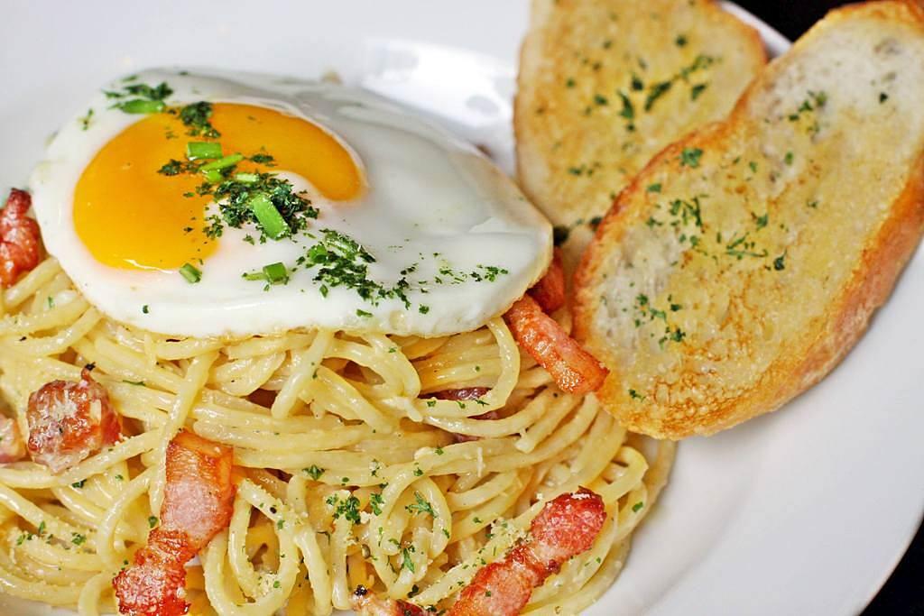 KXP Kulinarya Experience Carbonara Truffled Egg Pancetta