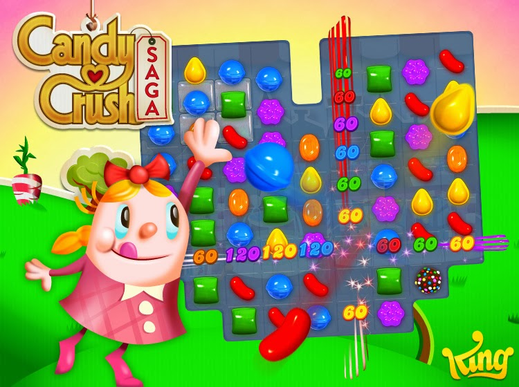 Candy Crush Saga Official Cover