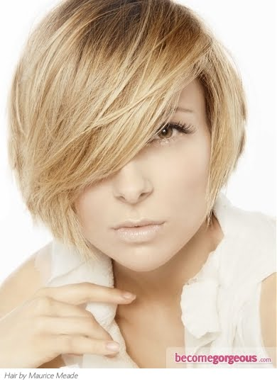 soft sandy blonde hair color gives any style a more subtle yet edgy