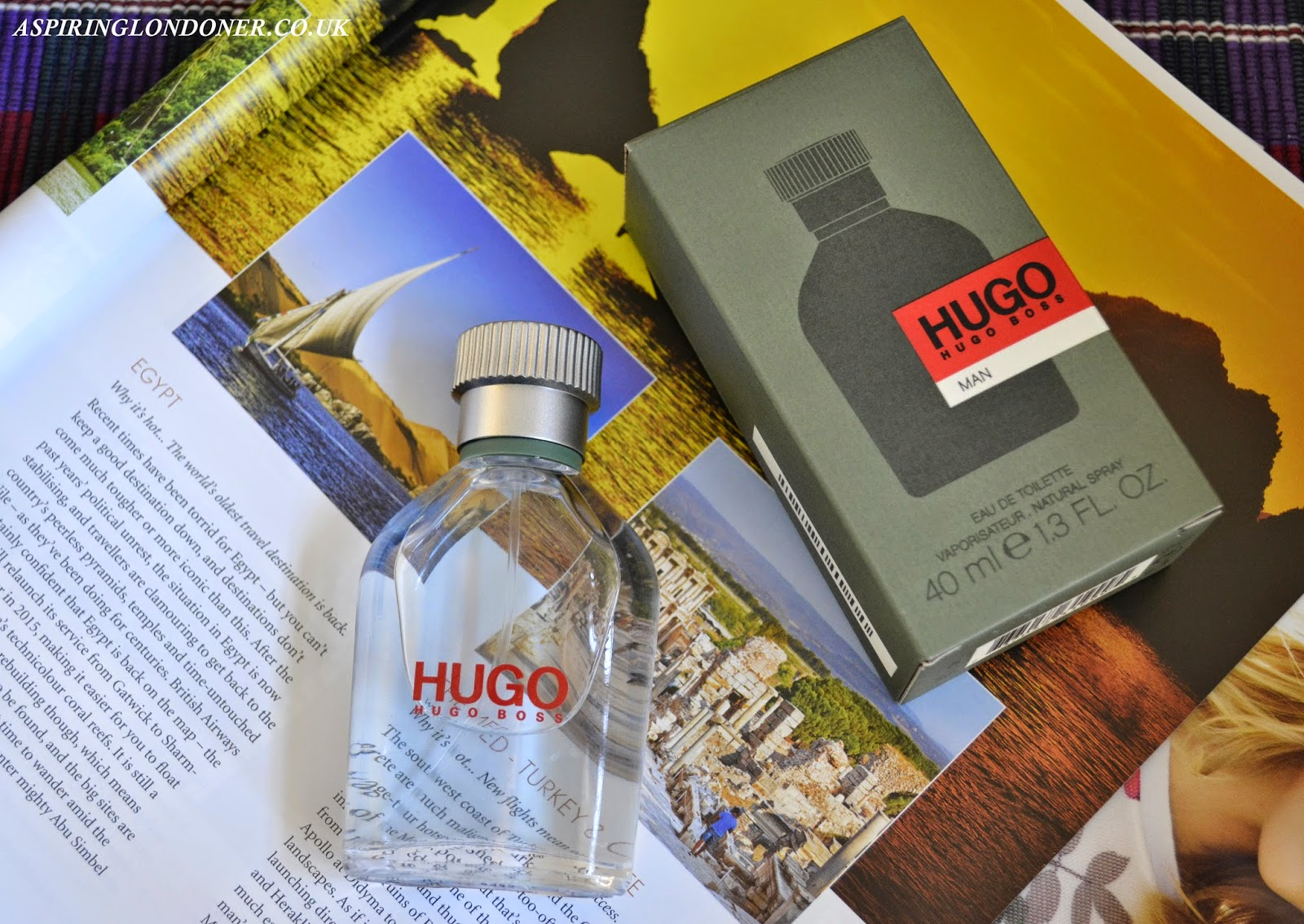 Valentine's Day Hugo Man EDT Perfume Review - Aspiring Londoner