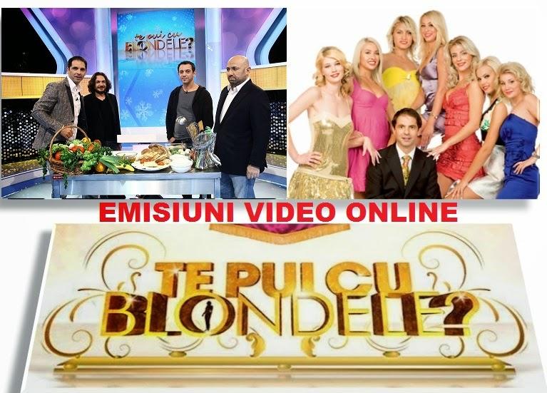 Te pui cu blondele Stela Popescu Cătălin Moroșanu Daniel Buzdugan 24 iunie 2015 online