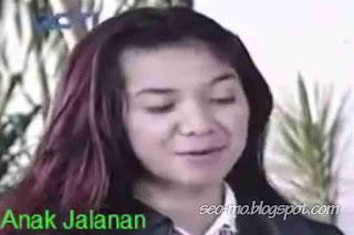 Foto Raya Kitty Pemain Sinetron Anak Jalanan RCTI