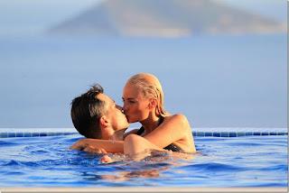 Rhian Sugden - Black Bikini - On Holiday in Turkey
