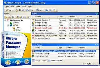Aurora Password Manager 3.2 build 1