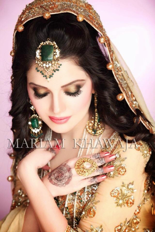 Pakistani Celebrity Armeena Rana Khan Wedding Pictures ...