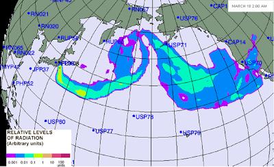 Mapa Radiacion ONU