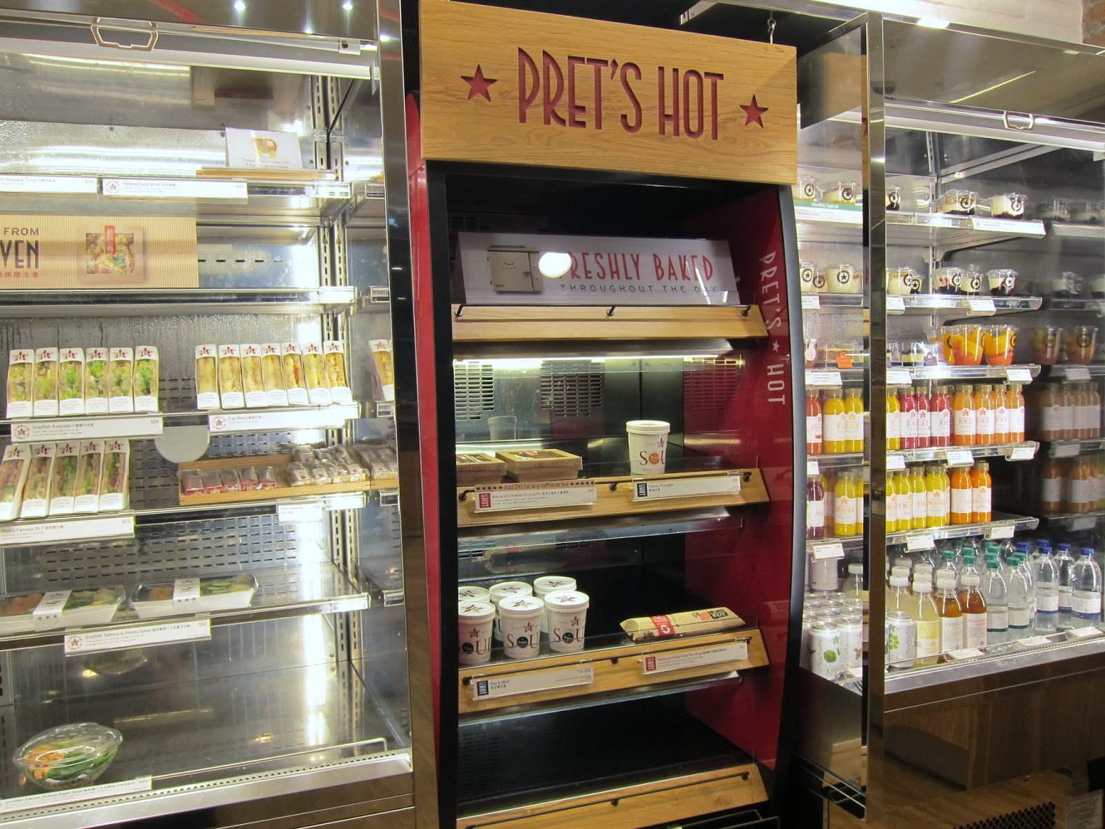 pret a manger internationalization strategy It became clear after our months of research that pret would continue to devise its strategies around the notion of (pret a manger) - international marketing.