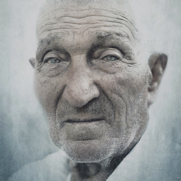 Wrinkled Faces Photography by Andrey Zharov