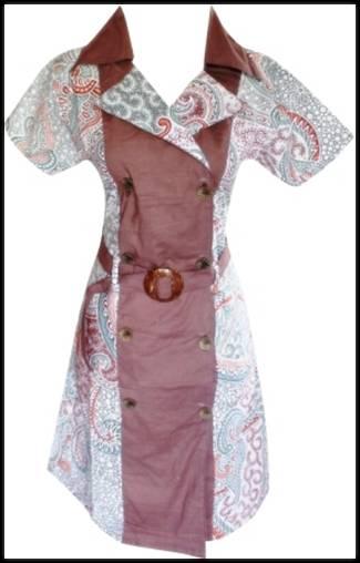 Koleksi Baju Batik Untuk Wanita Modern