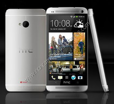HTC One Silver Smartphone Images & Photos Review in India.