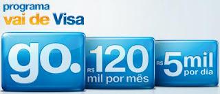 Promoção pagamento recorrente Visa