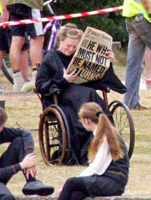 Maggie Smith: Minerva McGonagall en las películas de Harry Potter