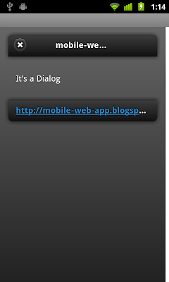 Open as Dialog in jQuery Mobile
