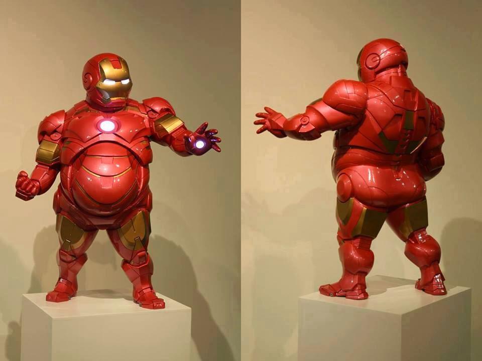 Mi amigo Tony me construyo un traje para luchar