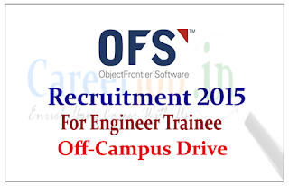 Object Frontier Software (OFS) Hiring for the post of Software Engineer Trainee