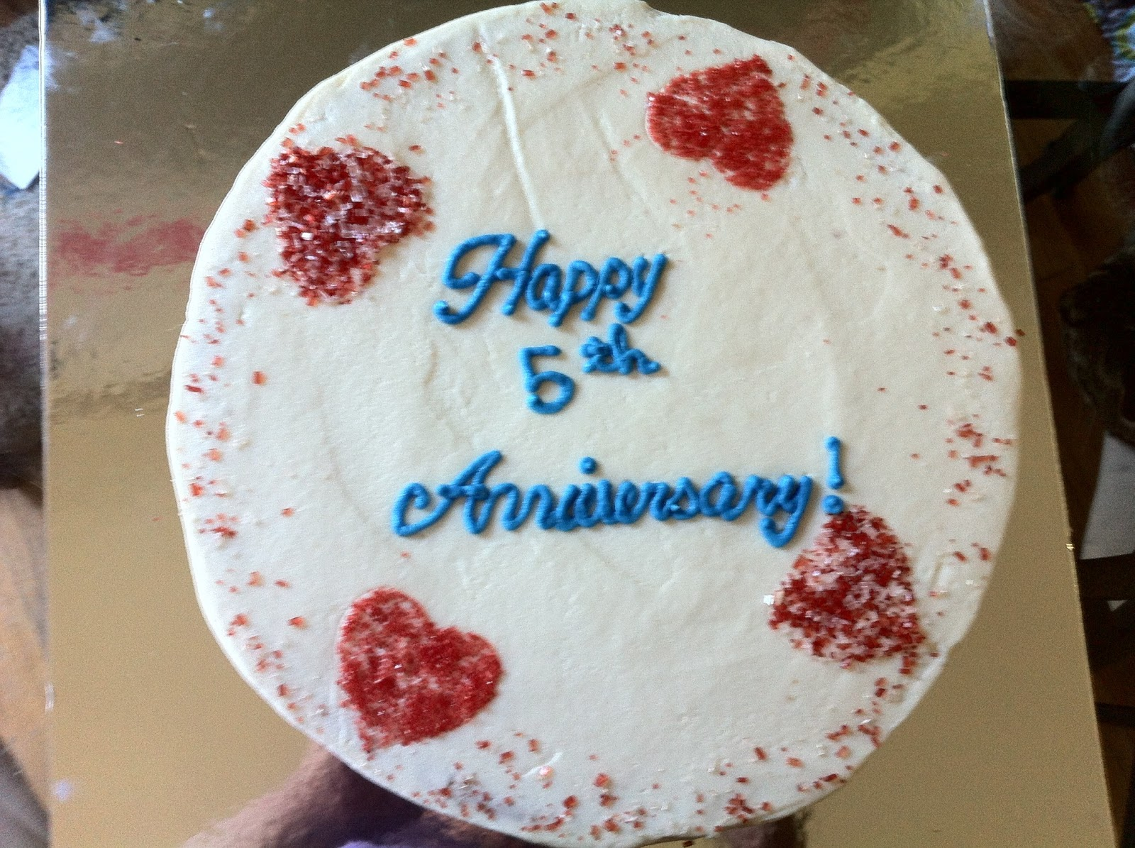 Cakes and bakes th anniversary cake