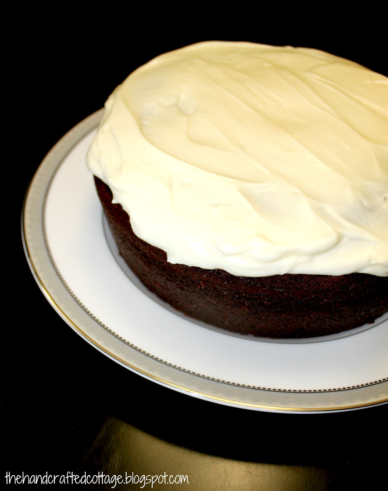 The Hand Crafted Cottage: Chocolate Guinness Cake