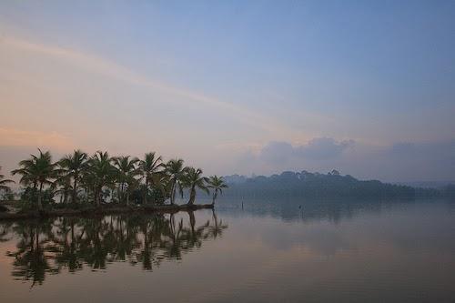 Vellayani Lake Kovalam Thiruvananthapuram India
