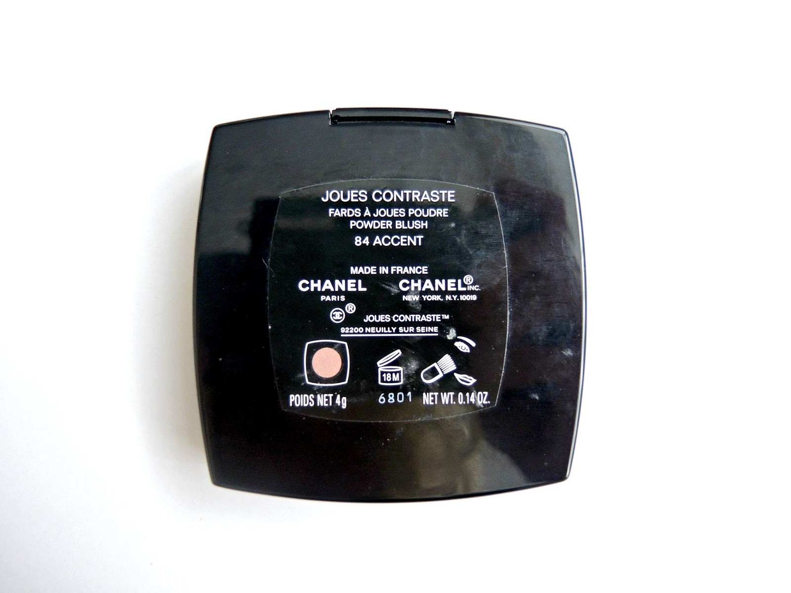 Chanel Joues Contraste Powder Blush Accent 84