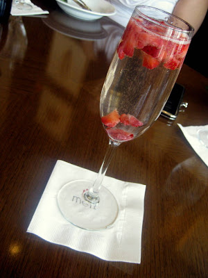 Strawberry Bellini at Melt in Center Valley, PA - Photo by Taste As You Go