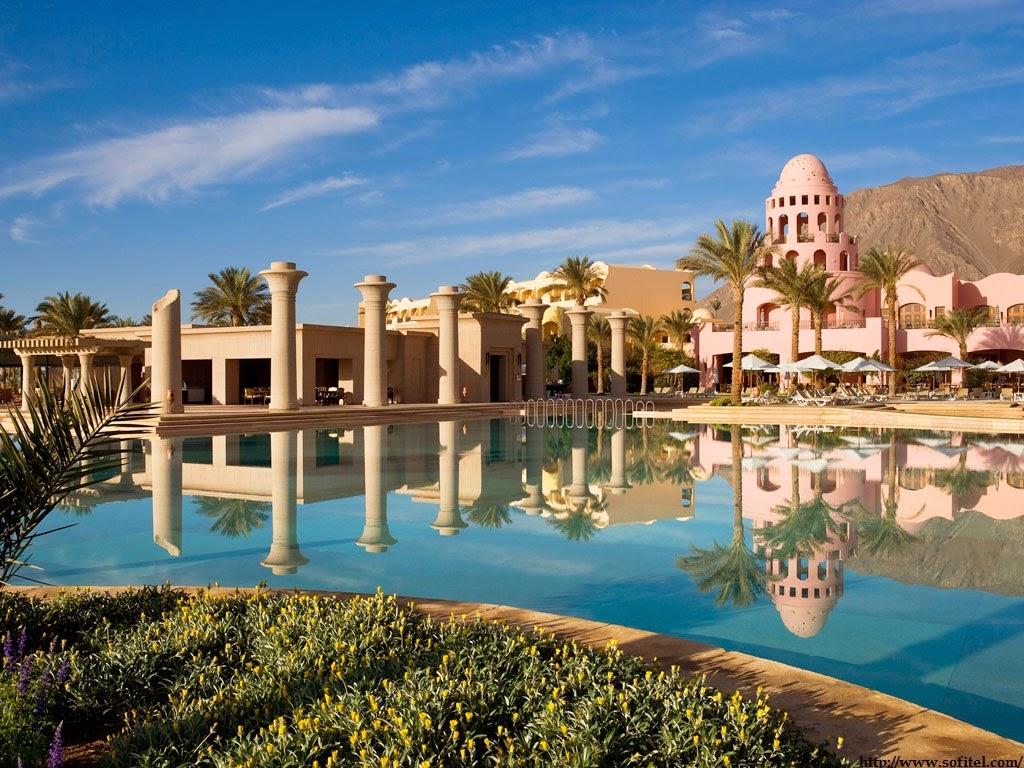 Hotel Sofitel w Tabie - Egipt