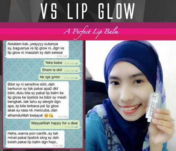 testimoni v sireh lip glow