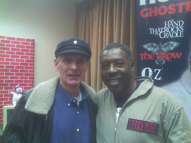 Dad with Ghostbuster Ernie Hudson