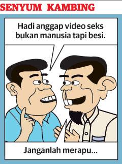 Video seks: Kalaulah lelaki itu mirip Najib....