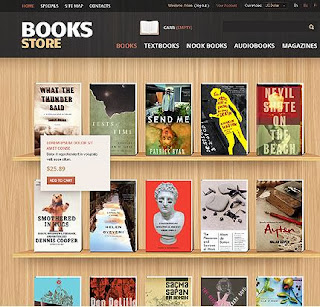Book Store Blogger Template