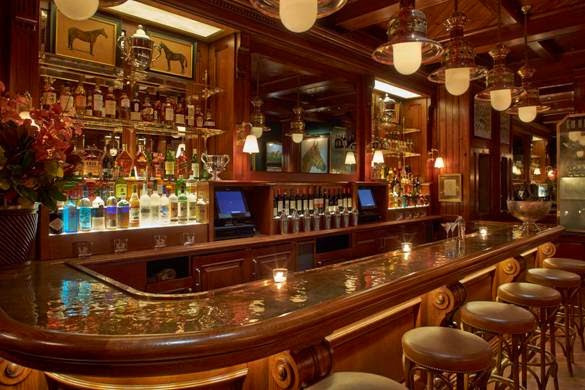 men 39 s styling ralph lauren introduces the polo bar restaurant in new york. Black Bedroom Furniture Sets. Home Design Ideas
