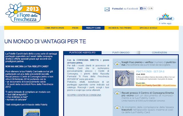 Raccolta Punti Parmalat: Il Fiore della Freschezza 2013