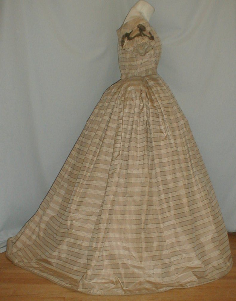 All The Pretty Dresses: Post American Civil War Era Ball Gown