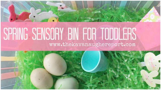 spring sensory Montessori Toddler