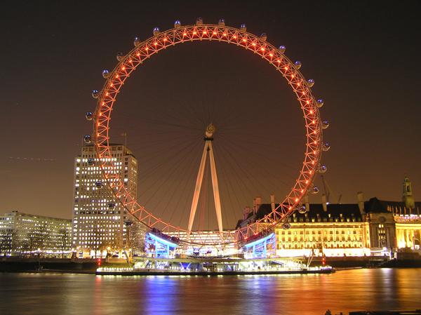 london eye by night - photo #17