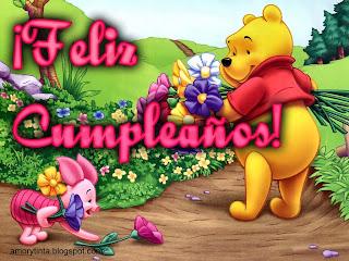 imagen de cumpleaños de winnie the pooh