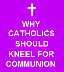 WHY SHOULD CATHOLICS KNEEL FOR HOLY COMMUNION?