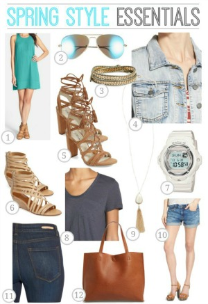 Spring Style Essentials