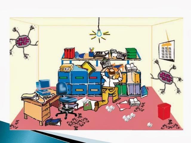 Riesgos en el trabajo orden y aseo practicas del trabajo for Empleo limpieza oficinas
