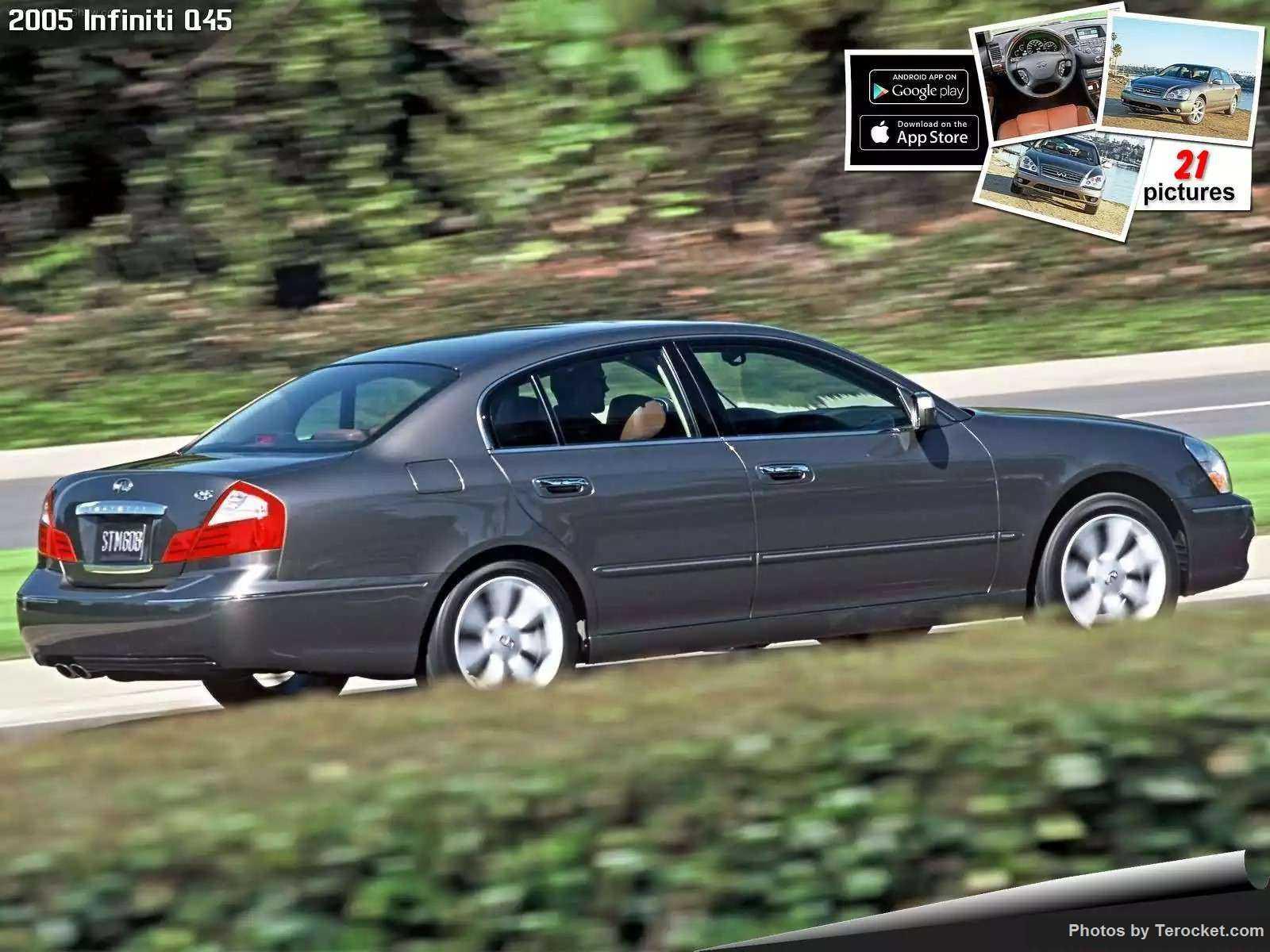 Hình ảnh xe ô tô Infiniti Q45 2005 & nội ngoại thất