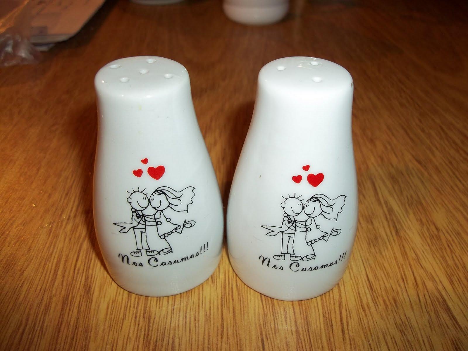 Tazas de ceramica y vajilla especiales y personalizadas - Saleros originales ...