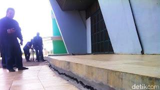 Kerusakan Stadion GBLA Kian Parah