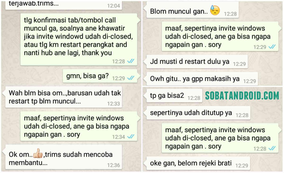Cara Agar Bisa Mengaktifkan Voice Call Whatsapp Update 27 Maret 2015