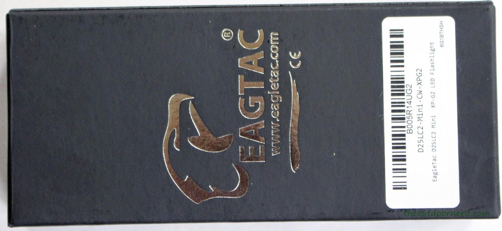 EagleTac D25LC2 Mini 18650 Flashlight Box 2