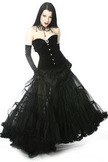 modelos de vestidos para góticas