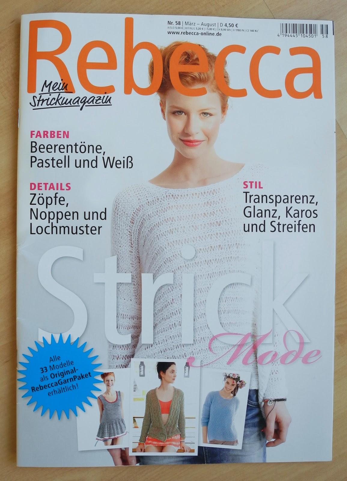 Rebecca ab 26. März im Zeitschriftenhandel