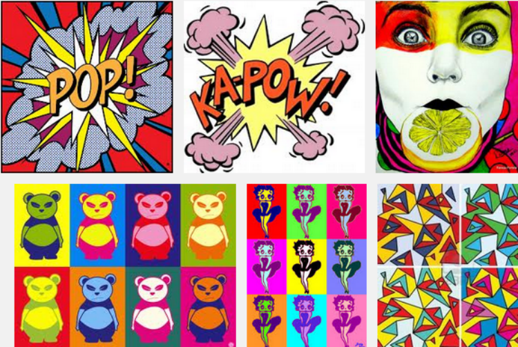 pop art inspiration #shop