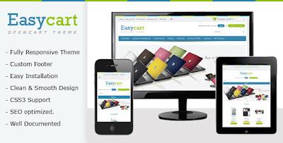 Easycart responsive opencart theme