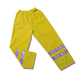 Ampliar imagen : Pantalones Impermeables de Alta Visibilidad AQUA FLUO  - MARCA